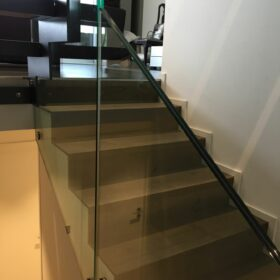 house B - stairs