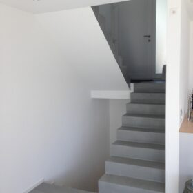 house A - stairs
