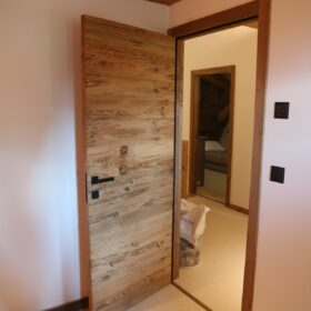 doors made from solid wood