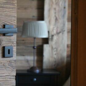 porte de communication en bois massif