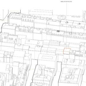 concept de surélévation - intégration au contexte urbain - vue sud-est
