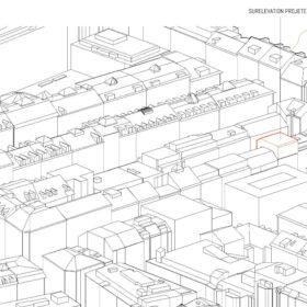 intégration au contexte urbain - vue sud-ouest