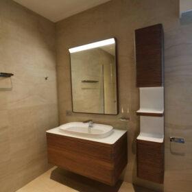 salle de douche ensuite de la chambre 4