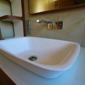 détail des vasques - salle d'eau de la chambre parents