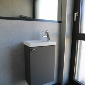 small guest WC sink