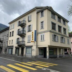 immeuble depuis la rue du Pont