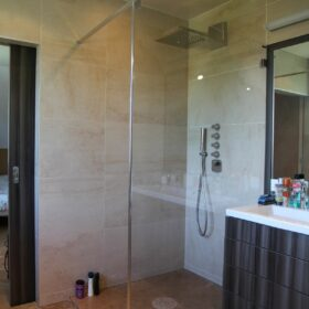 AFTER WORK | Parents bath and shower
