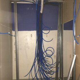 WORKS - installation of wiring networks for play facilities