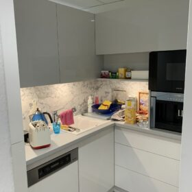 refurbished kitchen, offering more storage possibilities