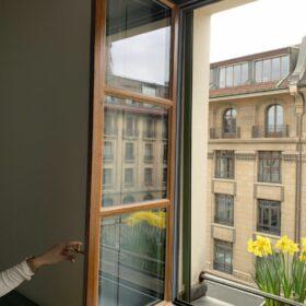 rénovation des menuiseries extérieures - remplacement des verres par du triple vitrage