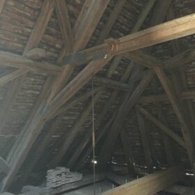 BEFORE WORK - roof structure