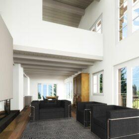 Computergeneriertes Bild - Innenraum - Wohnzimmer